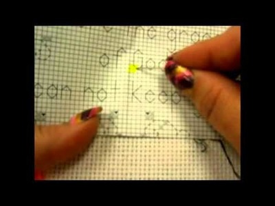 Counted Cross Stitch Part Two - Stitching