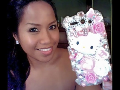 DIY: Bling Out your Cellphone Cover