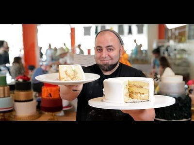 Duff Goldman's Secrets to the Perfect Layer Cake | Celebrity Chef | Food How To