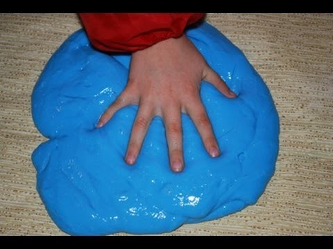 Easy experiment how to make Slime or Gak at home For Fun