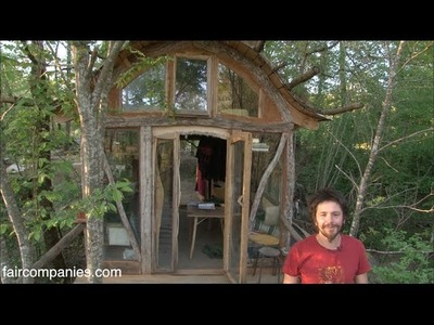 French carpenters craft whimsical off-grid tiny house hamlet