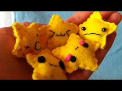 How I Make the Faces on my Plushies (Five Different ways)