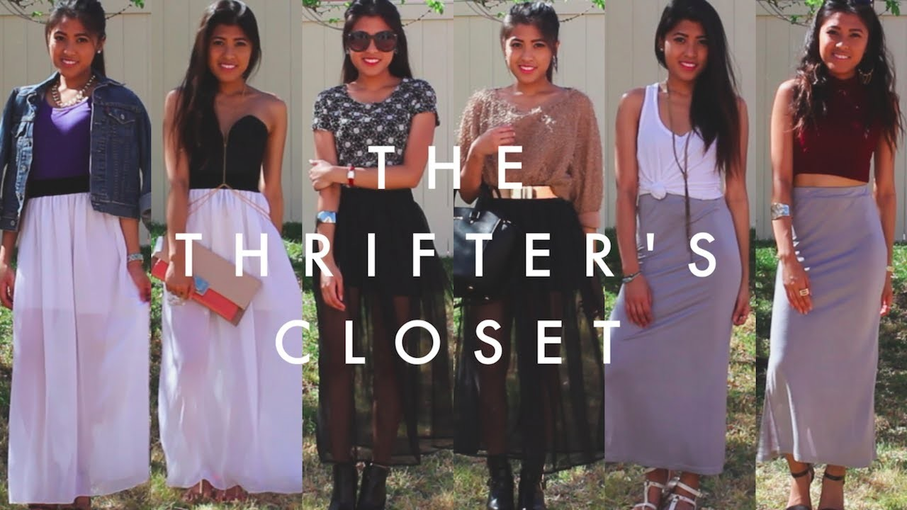 How I Style Maxi Skirts