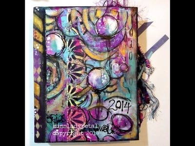 How to bind looseleaf journal pages book binding course