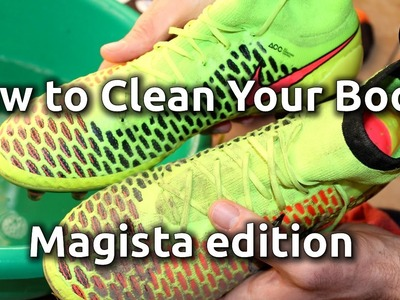 How to Clean The Nike Magista Obra