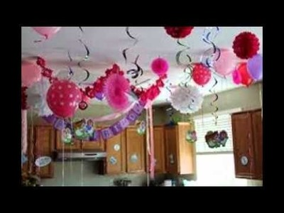 How To Decorate For A Birthday Party At Home