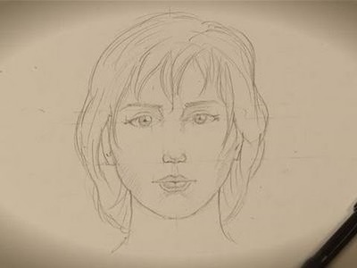 How to draw a real-looking face