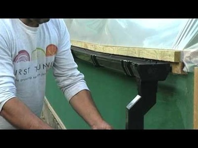 How to harvest rainwater from a Polytunnel? - V72