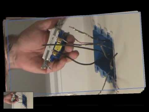 How to install a light switch: Connecting a light switch to the black wires: Part 1 of 2