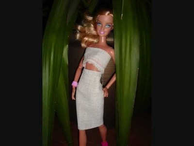 HOW TO MAKE a Barbie skirt suit : My outfits 9