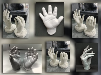 How to Make a cast of Your Hand