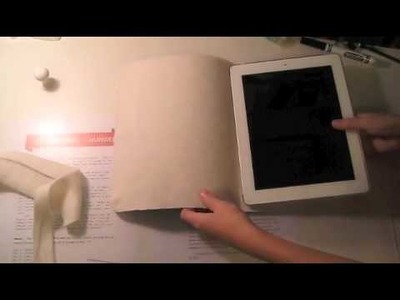 How to make a ipad case