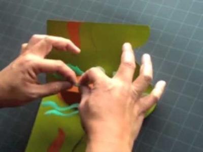 "How to Make a Kirigami ""Aquarius"" Pop-up Card"