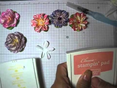 How to make a paper flower # 2
