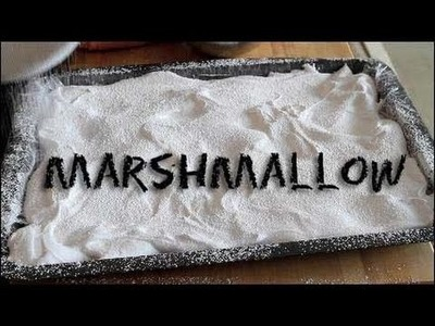 How to Make Marshmallows. Marshmallow 101
