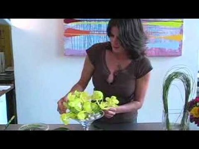 How to Make Simple Orchid Flower Arrangements By Iris Rosin