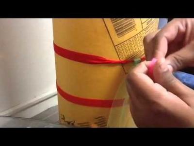 How to make the tutu dress knots