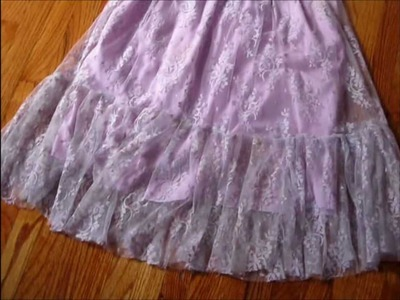 How to Sew a Princess Lace Skirt (Hime Gyaru Style)