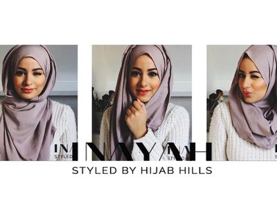 How To Style Your INAYAH Scarf | Hijab Tutorial #2