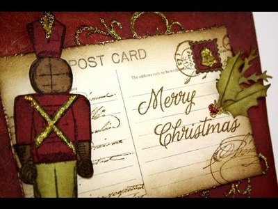 How-to video: Nutcracker holiday card