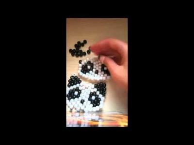 Kandi Panda Bear Tutorial Part 3