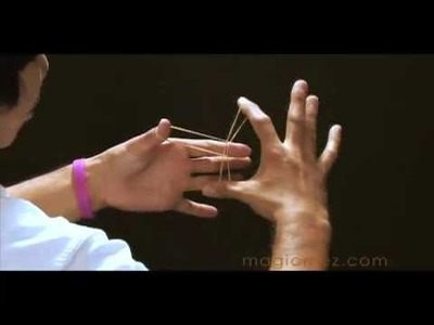 Learn Real Visual Magic -Crazy Rubberbands