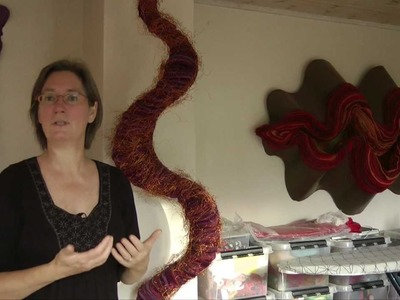 Lene Frantzen - Felt art - Applied arts and design series part 2
