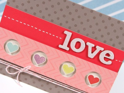 "Love (Saving a ""bad"" card) - Make a Card Monday #169"