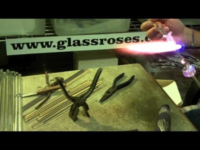 Making Glass Roses
