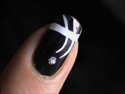 ONE MINUTE Nail Tutorial !! *Short Nail Art Designs*