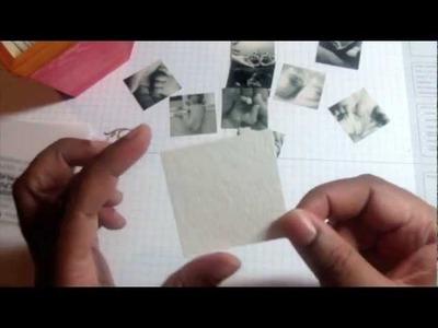 Part II - Concertina Bound Mini Photo Exhibit Album