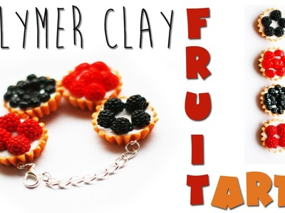 Polymer clay fruit tarts TUTORIAL + GIVEAWAY (CLOSED)