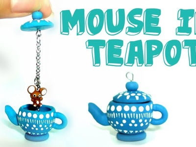 Polymer Clay Mouse in Teapot Tutorial