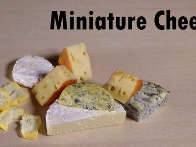 Polymer Clay Tutorial; 4 Simple Types of Cheese