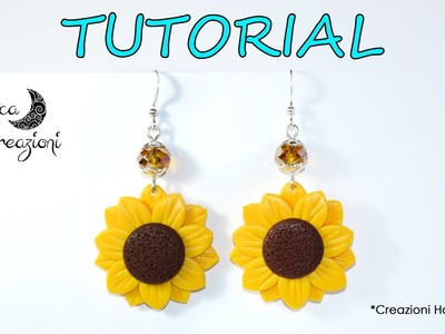 Polymer Clay Tutorial: Girasole in Fimo | Polymer Clay Sunflower