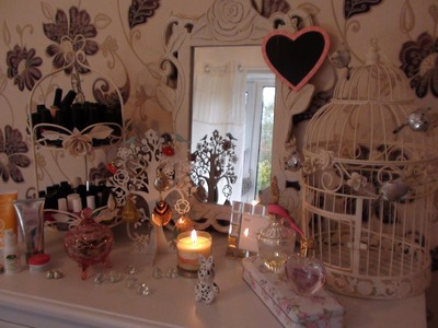 Room Decorating Tips! Shabby chic vintage and girly | MissPrincessPancake