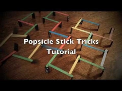 Rube Goldberg Tips and Tricks - Popsicle Sticks - #1