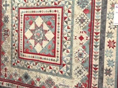 Sample Of Quilt Show In Paducah KY.