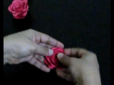 Simple Rose (made with chart paper)