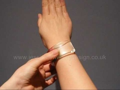 Taking your bangle on and off