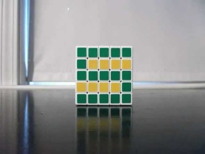 The Alphabet in Rubik's Cubes