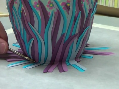 Vase, flower cane (part2) [finished]