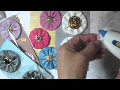 Vintage flowers tutorial