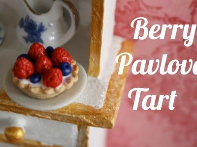 Berry Pavlova Tart : TEGB