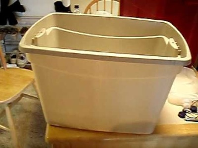 Building a self watering container