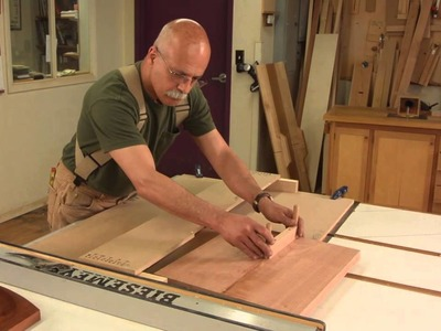 Carve a Chair Seat on the Table Saw with Mario Rodgriguez