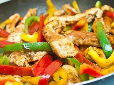 Chicken Fajitas Recipe -- The Frugal Chef