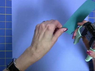 Crop-A-Dile Corner Chomper  and Tim Holtzs Non-Stick Micro Serrated Scissors