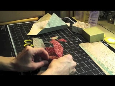 December 2012 Making Molds Out of Stamps and Gift Box Tutorial