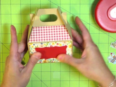 Decorating a Mini Gable Box